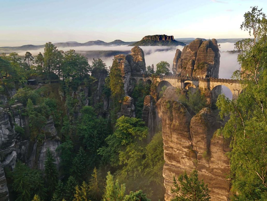 Bastei Rathen Saxon Switzerland