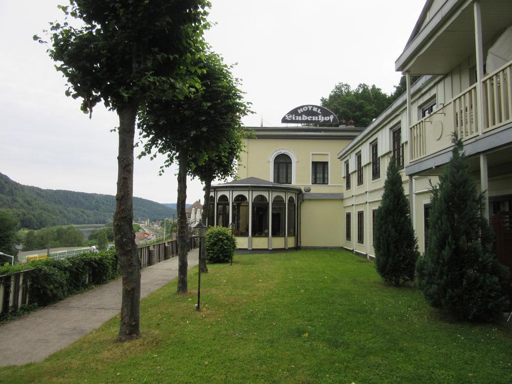 Hotel Lindenhof Königstein Weg Bäume